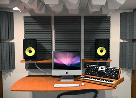 Akustik Stüdyo Ses Kayıt Odası