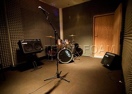 Akustik Piramit Sünger Müzik Odası Ses Yalıtımı