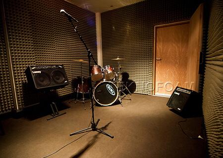 Bariyerli Akustik Sünger Müzik Odası Ses Yalıtımı