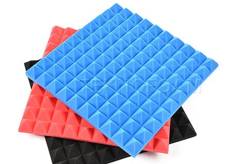 Renkli Dekoratif Akustik Piramit Sünger