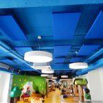 Akustik Yüzer Tavan Paneli Sistemleri