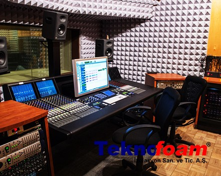 Basotect Akustik Sünger Stüdyo Ses Yalıtımı Ankara