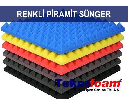 Renkli Piramit Sünger Fiyatları Ankara