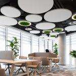 Ses Yalıtımı Akustik Yüzer Tavan Panelleri