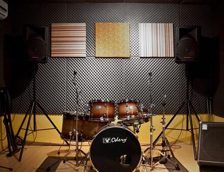 Yanmaz Akustik Sünger Stüdyo Ses Yalıtımı