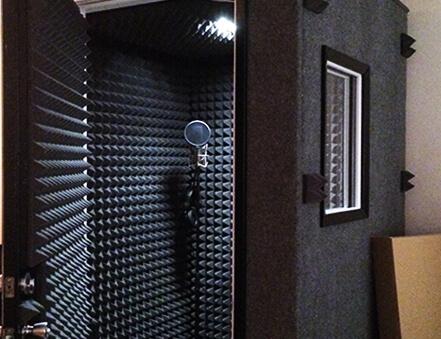Yanmaz Sünger Akustik Kabin Uygulaması