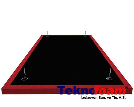 Yüzer Tavan Paneli Uygulama Detayı