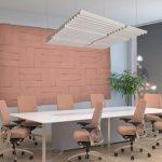 Akustik Paneller Kumaş Kaplı Akustik Duvar ve Tavan