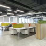 Masa Seperatörü Ofis Çağrı Merkezi Akustik Ses Yalıtım Paneli