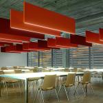 Sarkıt Akustik Ses Düzenleme Tavan Paneli