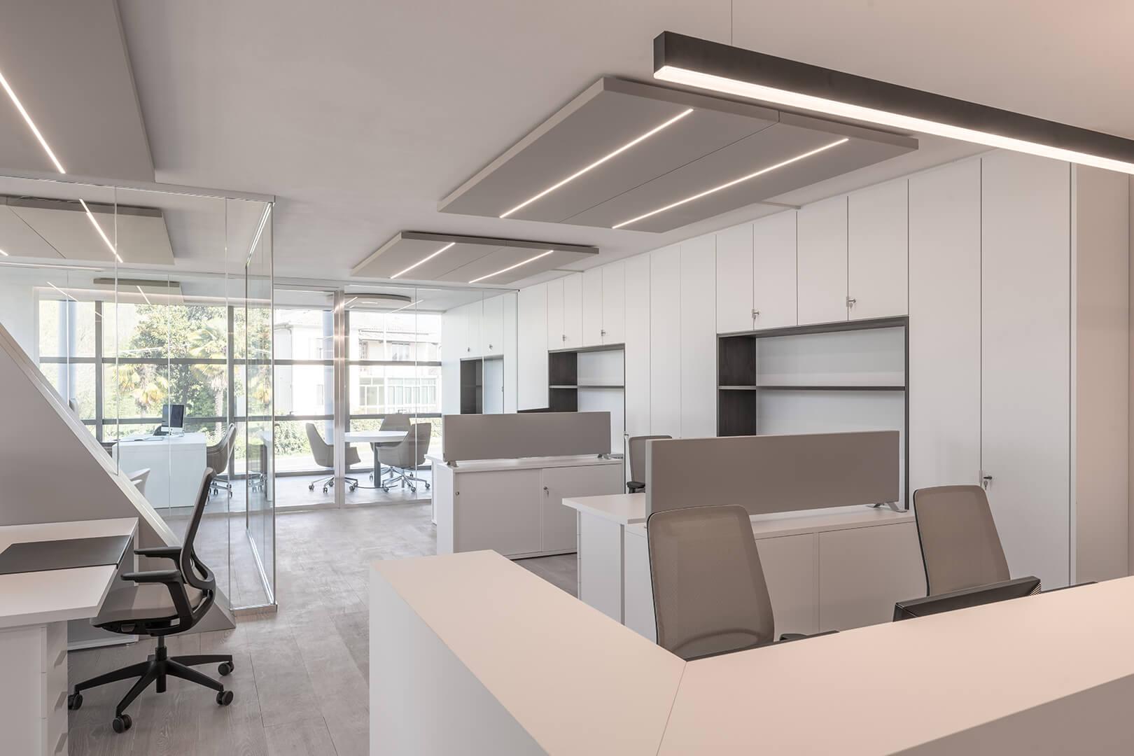 Açık Ofis Ses Yalıtımı Akustik Tavan Panelleri
