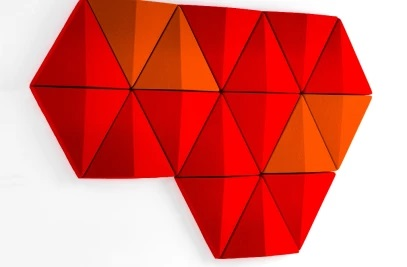Akustik 3D Duvar Panelleri Dekoratif Panel