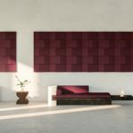 Akustik Ses Yalıtım Panelleri 3 Boyutlu Duvar Tavan Panelleri