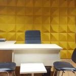 Akustik Ses Yalıtımı Dekoratif 3 Boyutlu Paneller