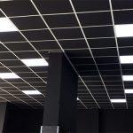 Black Cam Yünü Akustik Asma Tavan Paneli