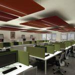 Çağrı Merkezi Akustik Ses Yalıtımı Tavan Panelleri