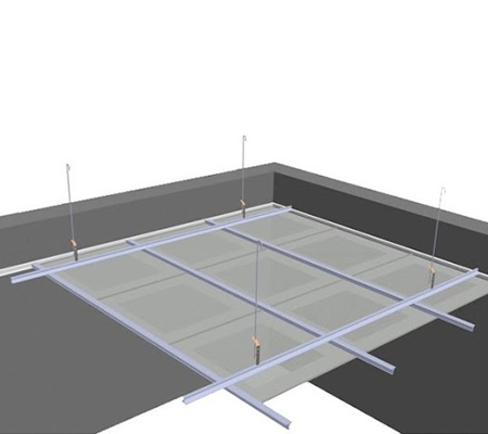 Cam Yünü Akustik Asma Tavan Panelleri