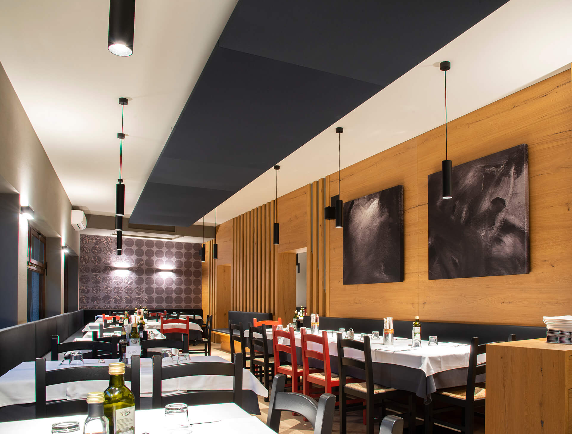 Restaurant Cafe Bar Ses Yalıtımı