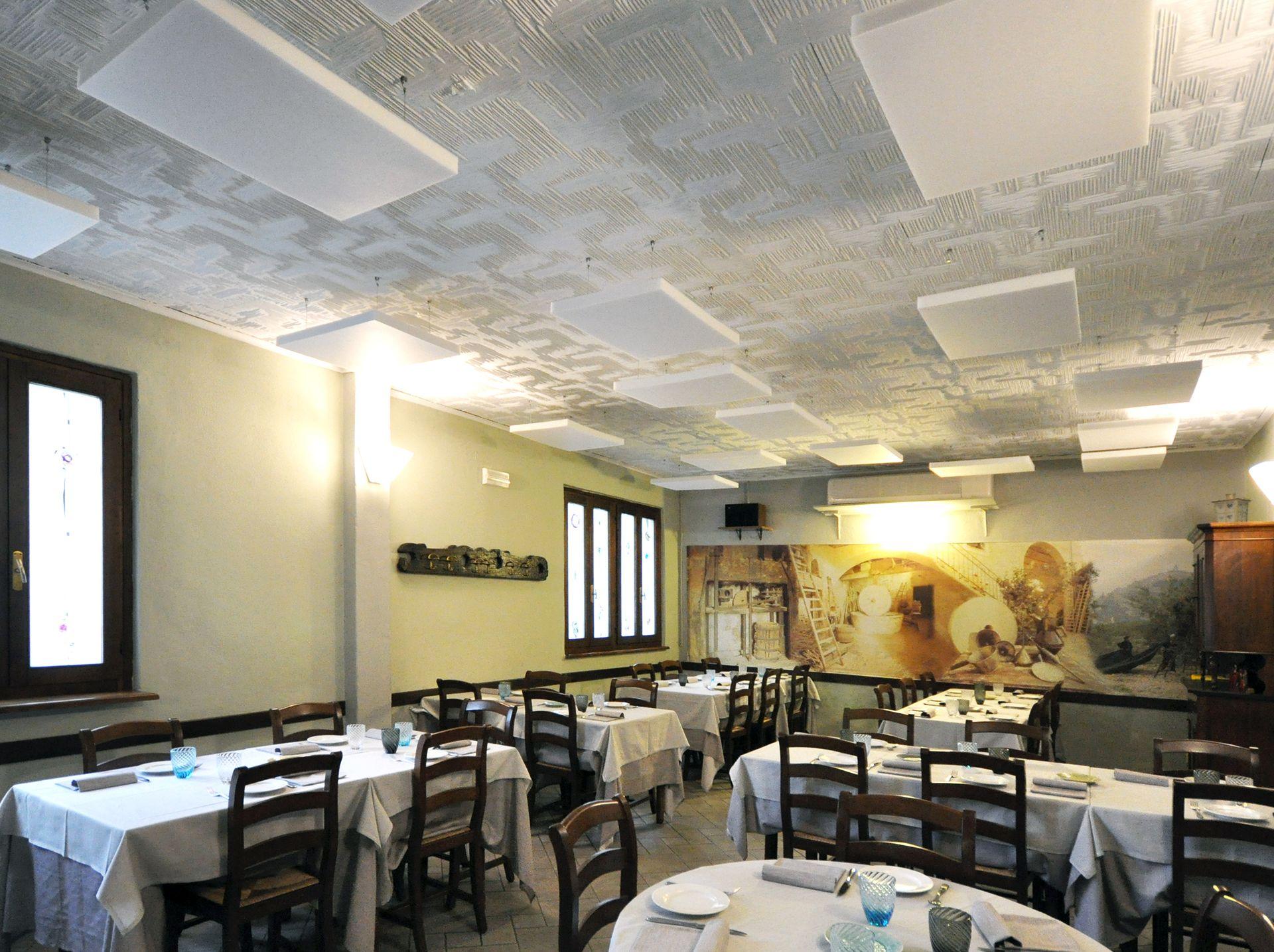 Restaurant Cafe Yankı Yalıtımı Tekno Akustik Ankara