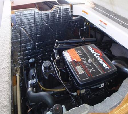 Tekne Motor Kabini Ses Yalıtım Malzemeleri