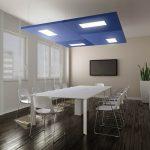 Toplantı Salonu Akustik Ses Yalıtımı Yüzer Tavan Panelleri