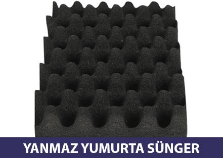 Yanmaz Akustik Yumurta Sünger Ses Yalıtım Süngerleri Ses Yalıtımı Ankara