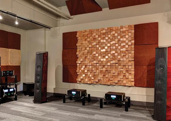 Akustik Difüzör Panel Ahşap Stüdyo Akustik Malzemeler