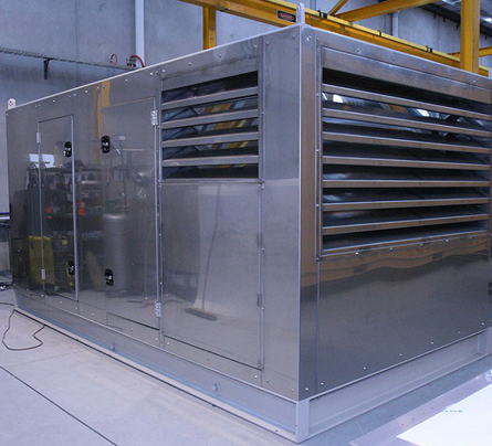 Ankara Etimesgut Fabrika Jeneratör Hidrofor İnşaat Akustiği