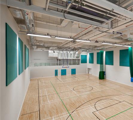 Basketbol Spor Salonu Ses Yalıtımı Ankara Evren Ses Yalıtımı