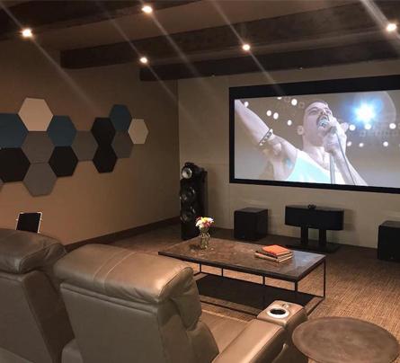 Ses Yalıtımı Ankara Keçiören Ev Sinema Salonu