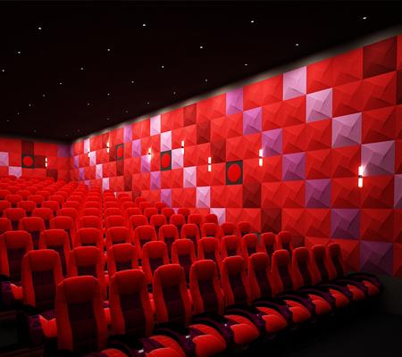 Sinema Salonu Ses Yalıtımı Hacim Akustiği