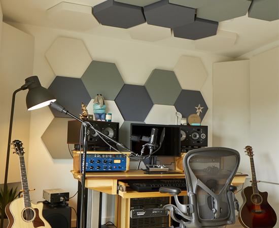Solo Akustik Panel Stüdyo Odası